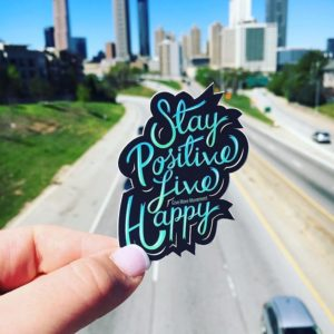 Live Happy Sticker